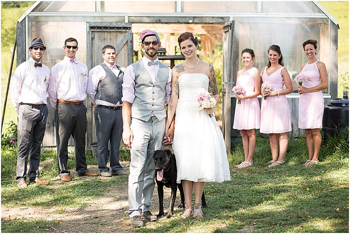 A Farm, a Wedding, and Miss Frankie ~ CTG Photography_0001