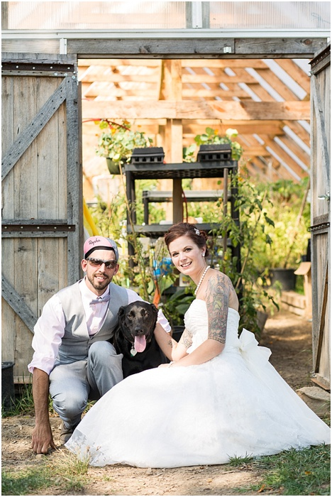 A Farm, a Wedding, and Miss Frankie ~ CTG Photography_0016