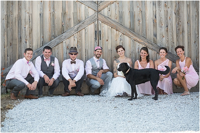 A Farm, a Wedding, and Miss Frankie ~ CTG Photography_0017